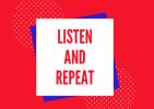 """Incontri di avvicinamento alla lingua inglese """"Listen and repeat"""""""