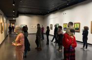 Sala espositiva - mostra Van Gogh. I colori della vita